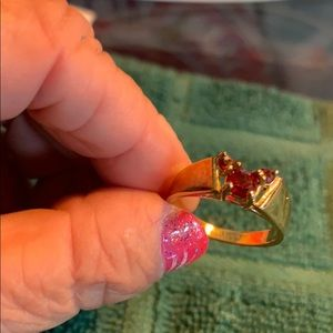Disney Mickey Mouse Gold Ring